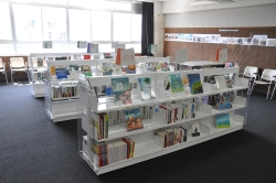 新宿区立中央図書館で「本の力」巡回展を開催本で伝える東日本大震災