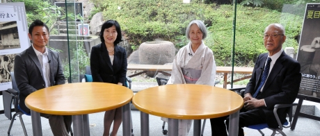 ケーブルテレビの新宿区広報番組で夏目漱石記念施設を特集「こんにちは新宿区長です!」 10月の番組