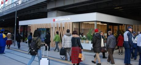 新宿駅東南口高架下に新宿観光案内所がオープン新宿の文化観光情報発信の拠点が誕生